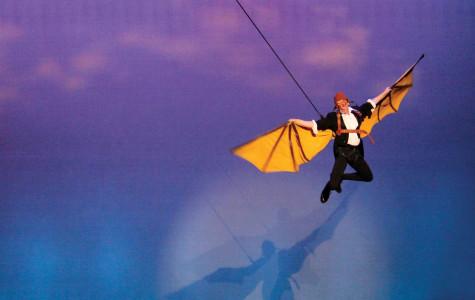 Thomas Kubinek's zany performance flies into PAC