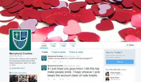 The popular Twitter site shares anonymous messages from supposedly love-lorn students.