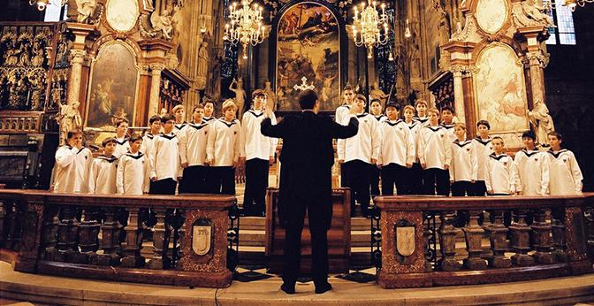 The Vienna Boys Choir will perform holiday songs to get PAC audiences in the holiday spirit.