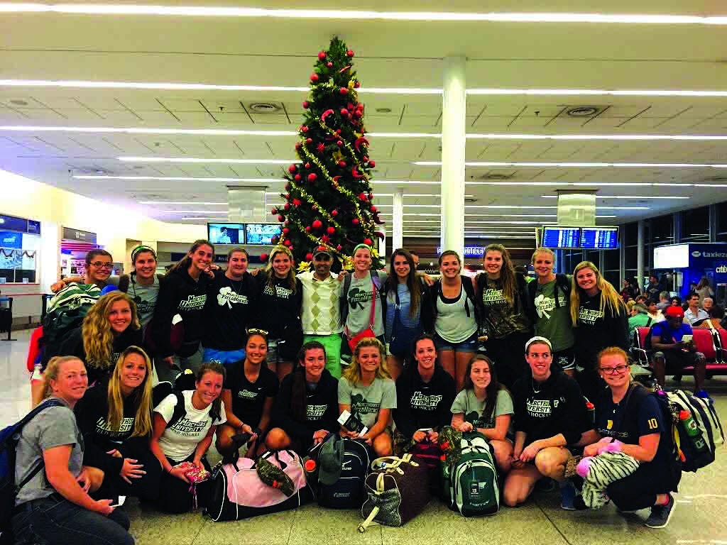 The field hockey team traveled to Argentina to play against some of the country's top teams and explore the culture.
