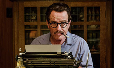 "Pictured above is Bryan Cranston as the main character Trumbo from the film ""Trumbo""."