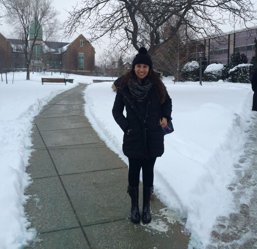 Unlike other international students, Alejandra Garcia only has six months to experience what Mercyhurst has to offer.