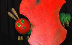 The very hungry caterpillar will be here