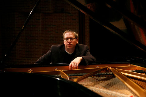 Nicholas Phillips, D.M.A., pictured above, will be performing a recital at Mercyhurst University.