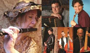 Traditional klezmer flutist Adrianne Greenbaum and the rest of Fleytmuzik.