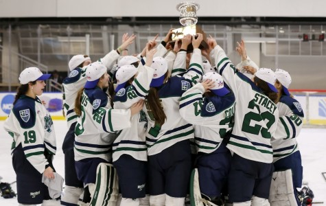Women's hockey takes CHA title