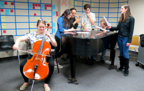 Students to premier their compositions