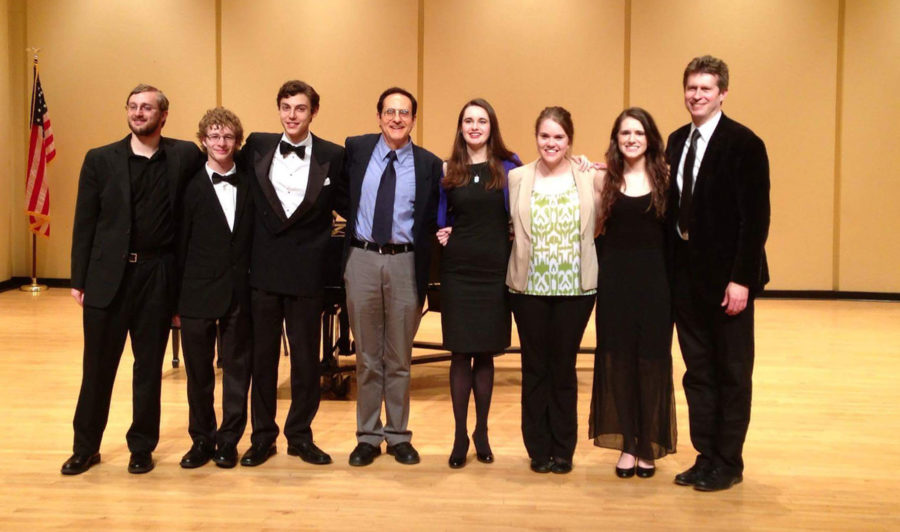 The composer's concert was a success