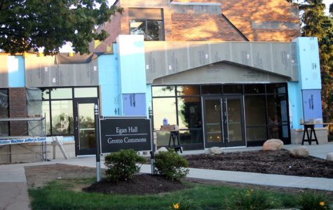 Egan Dinning Hall is now Grotto Commons