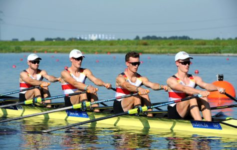 Junior Jonas Weller earns silver at World Rowing Championships