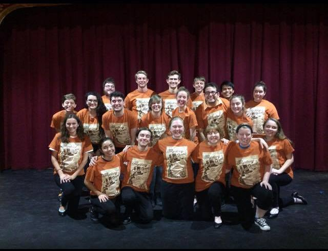 """The cast of the musical """"The Mystery of Edwin Drood."""""""
