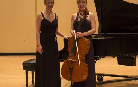 The cello sang during the recital