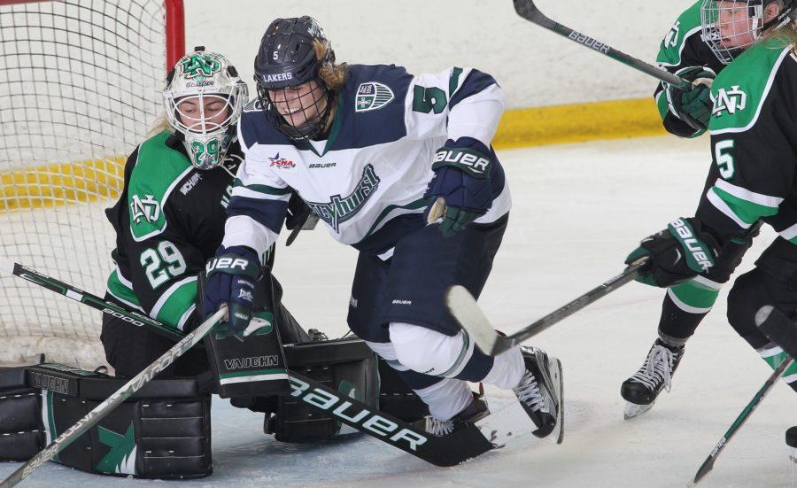 Freshman Sam Isbell scored the equalizer agaisnt No. 6 North Dakota, scoring her first goal of the season.