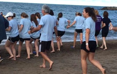 No cold feet for Erie Plunge