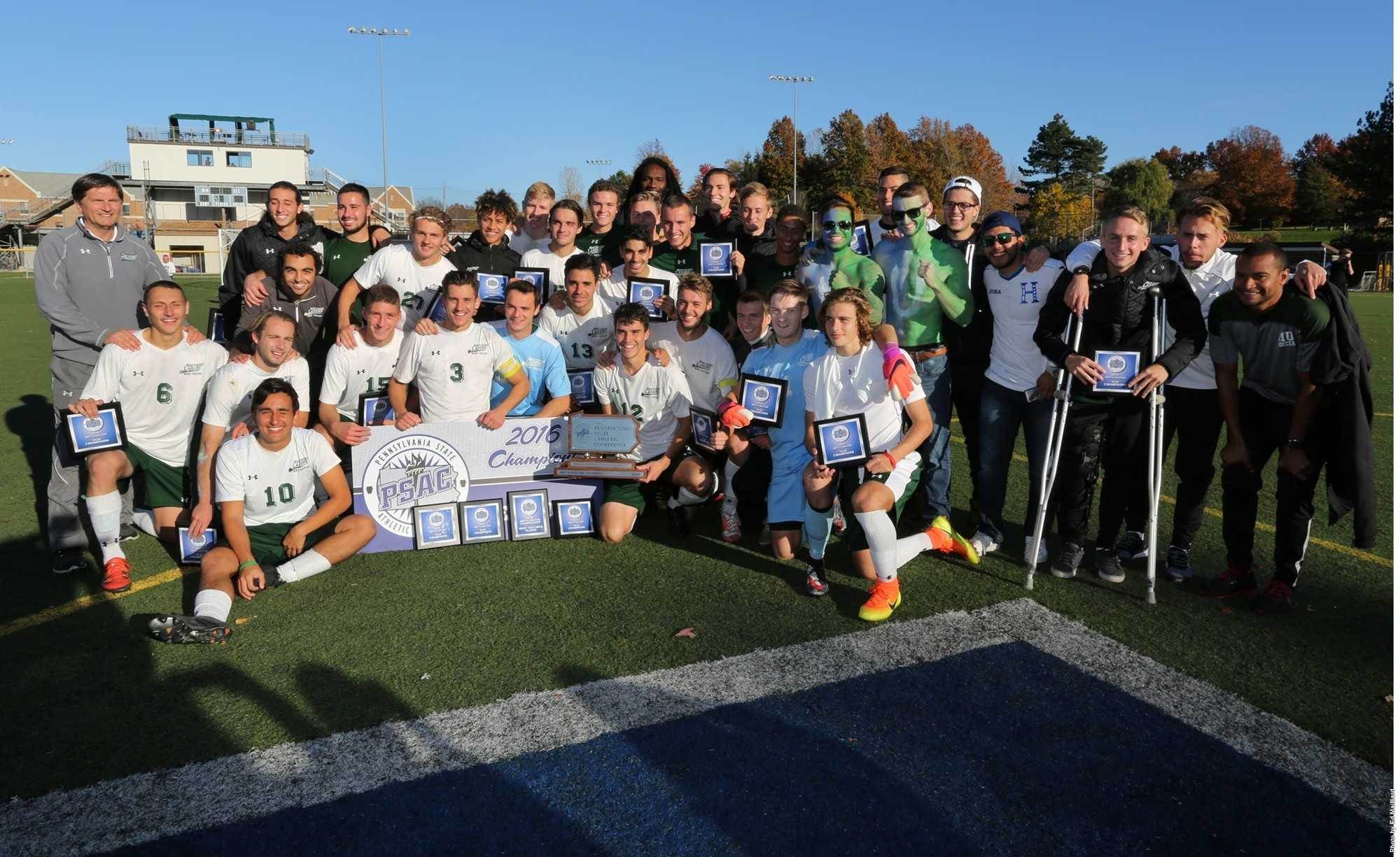 Mercyhurst Lakers became the new PSAC champions last Sunday, when they defeated Millersville, 2-1.