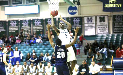Junior Dajuan Dent played 12 minutes and scored 16 points against Clarion University. Dent has now scored 177 points throughout the season.