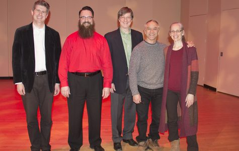 Moser's first recital at Mercyhurst a success