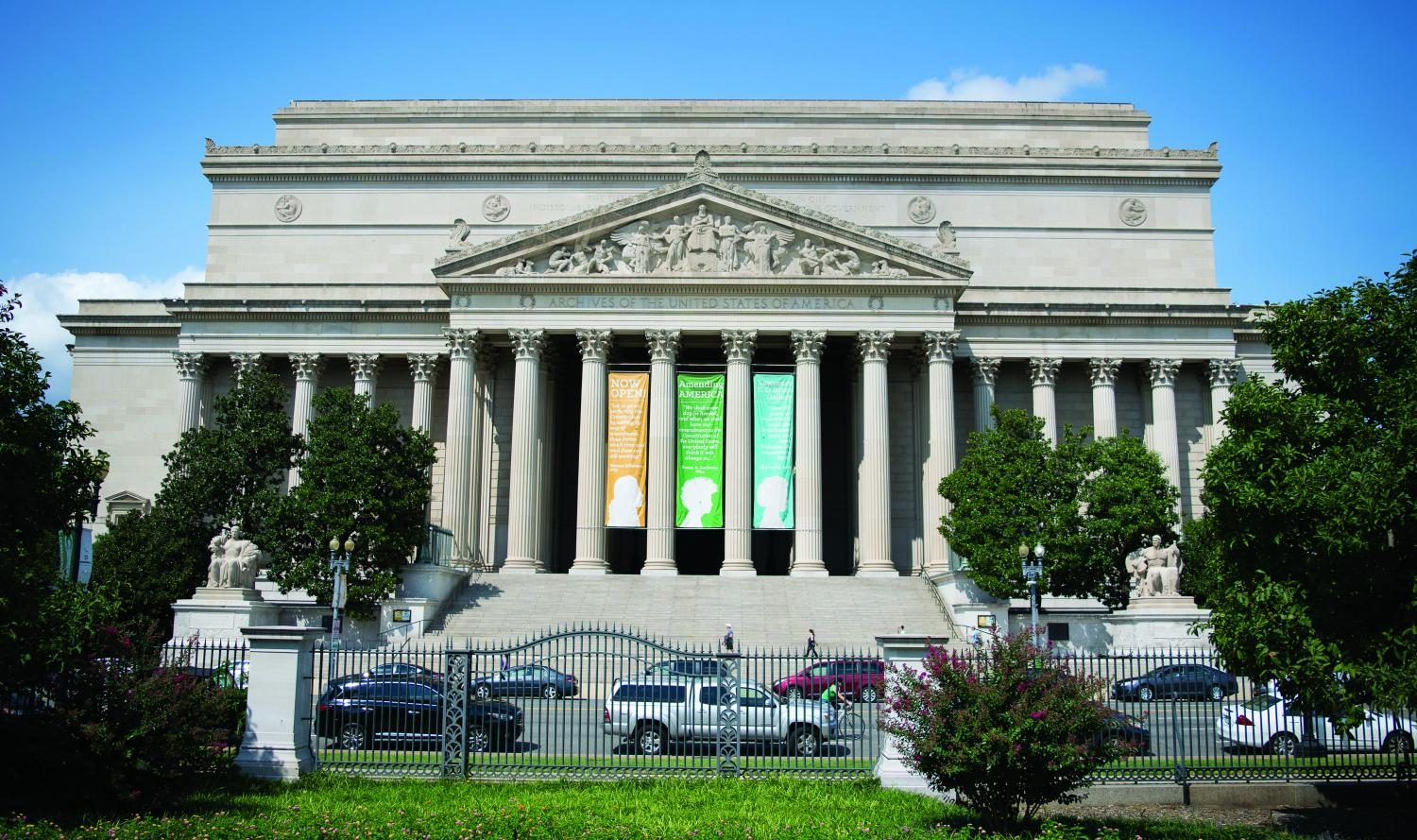 The National Archives Building, in Washington, D.C., houses the Constitution. The Constitution will be celebrated on Mercyhurst's Erie and North East campuses Sept. 13-19.