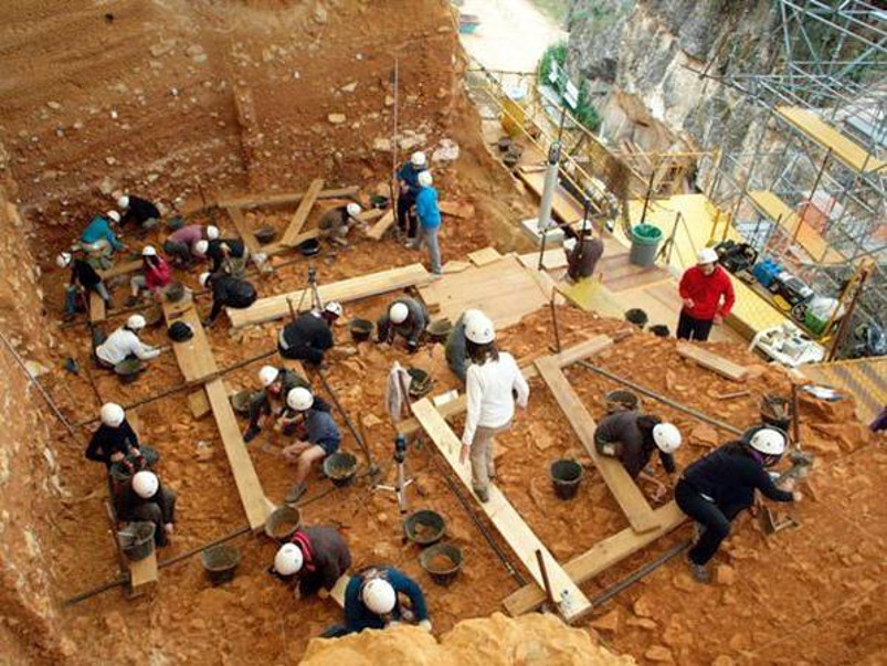 Human history in Atapuerca