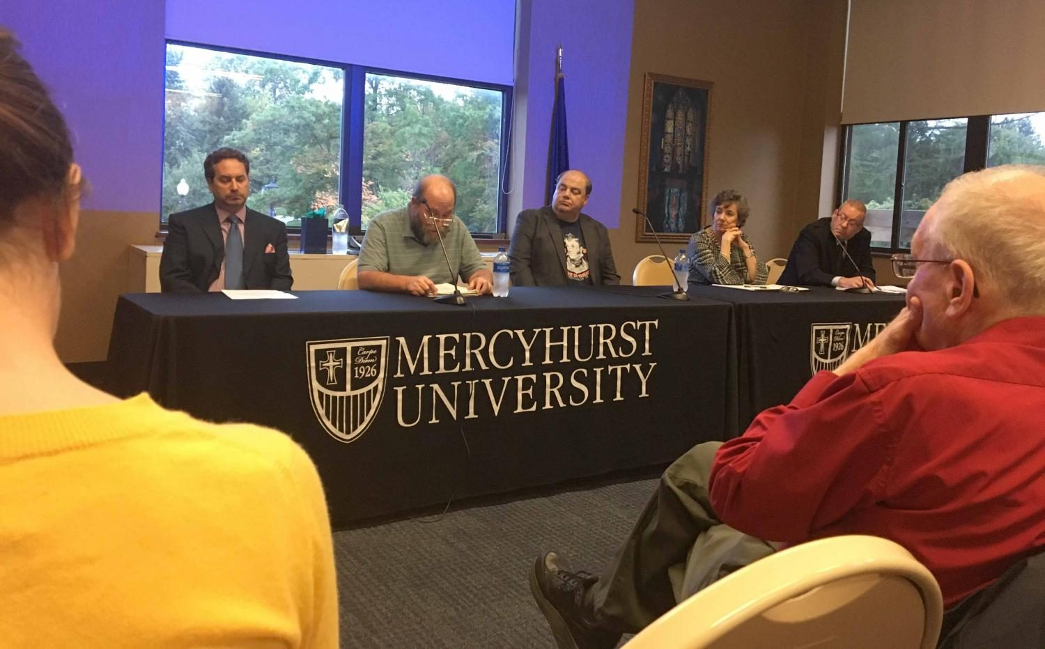 Mercyhurst+holds+panel+to+discuss+ethics%2C+journalism