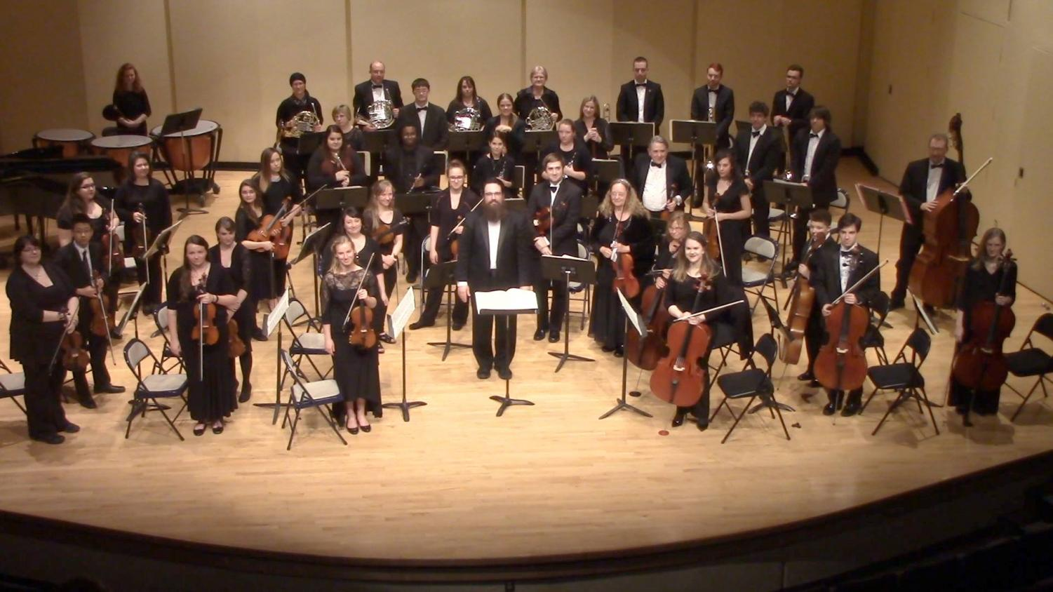 The Mercyhurst Civic Orchestra had a successful performance at Walker Recital Hall on Oct. 29.