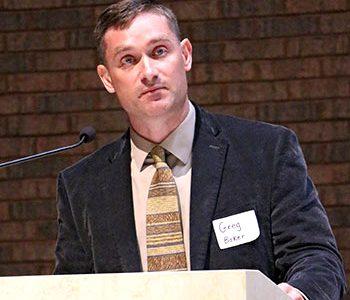Baker to speak on gender, spirituality