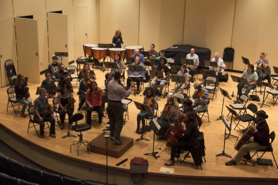 The newly named Civic Orchestra represents both the Mercyhurst University community and the Erie community.