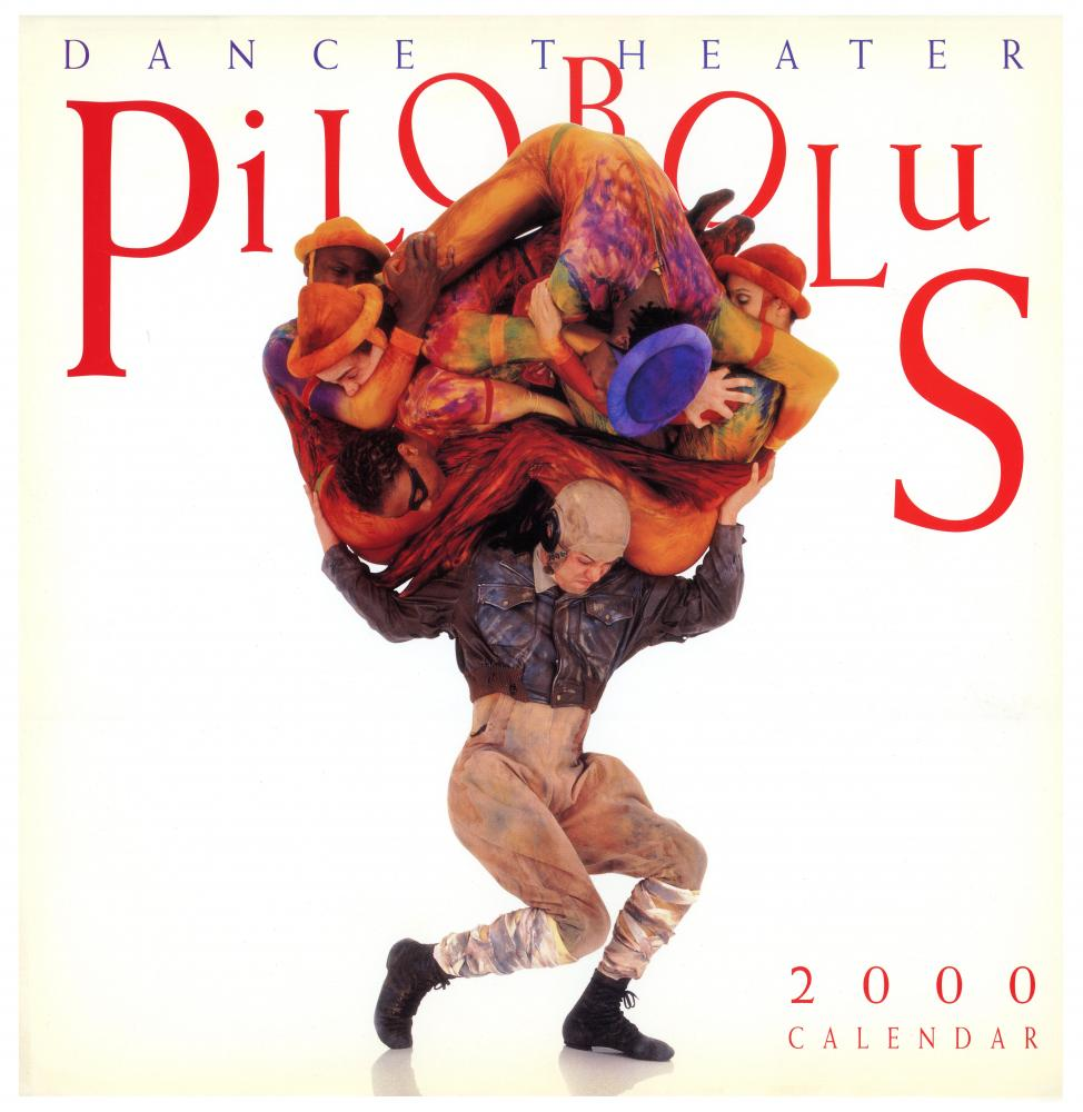 Mercyhurst+professor+of+Dance+Mark+Santillano+holds+fellow+dancers+in+a+pose+reminiscent+of+Atlas+during+his+time+with+Pilobolus.+