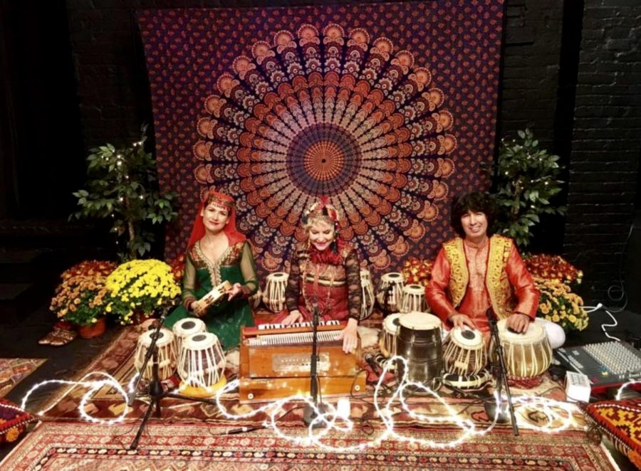 Tabla for Two will be coming to Mercyhurst on Nov. 6. Sofya Savkina, left, is the dancer who is will be accompanying duo Masood Omari, right, and Abigail Adams Greenway.