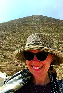 Leslie Fitzpatrick, Ph.D., has worked throughout the world in locations such as Croatia, Mexico and Peru.