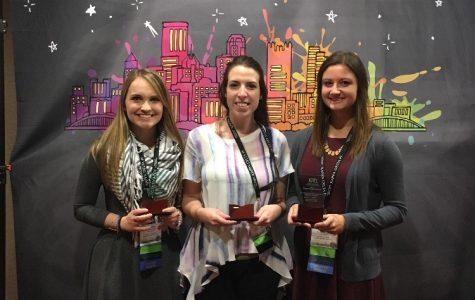 Education honor society earns awards