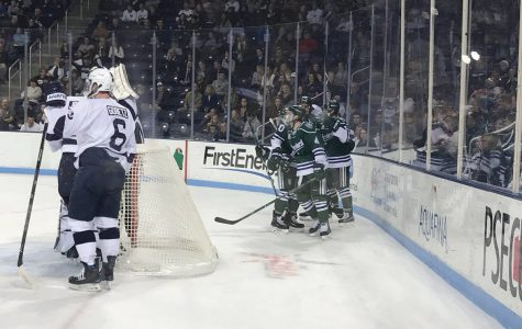 MU hockey splits with PSU