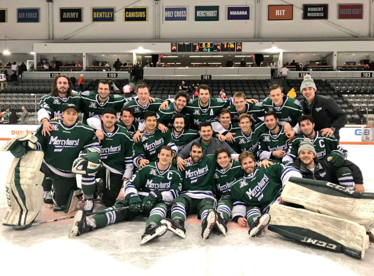 AHA: Mercyhurst Is Your Conference Champ