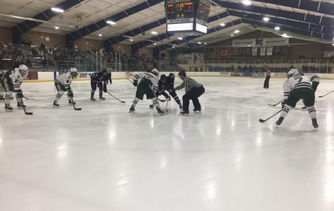 Men's hockey ices Holy Cross