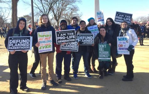 Thousands march for life