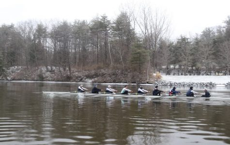 Rowing beats an Ivy
