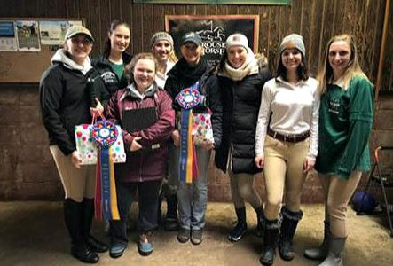 Success for MU equestrian team