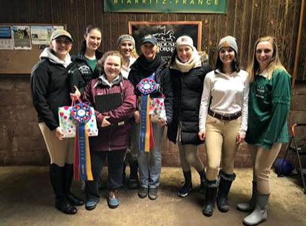 Mercyhurst's Equestrian Team has had a successful season.