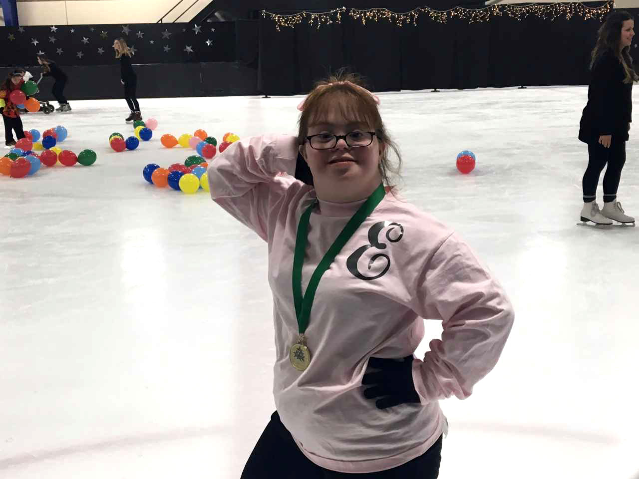 Gliding Stars participant Emily Stevens loved having the opportunity to perform in the ice show.
