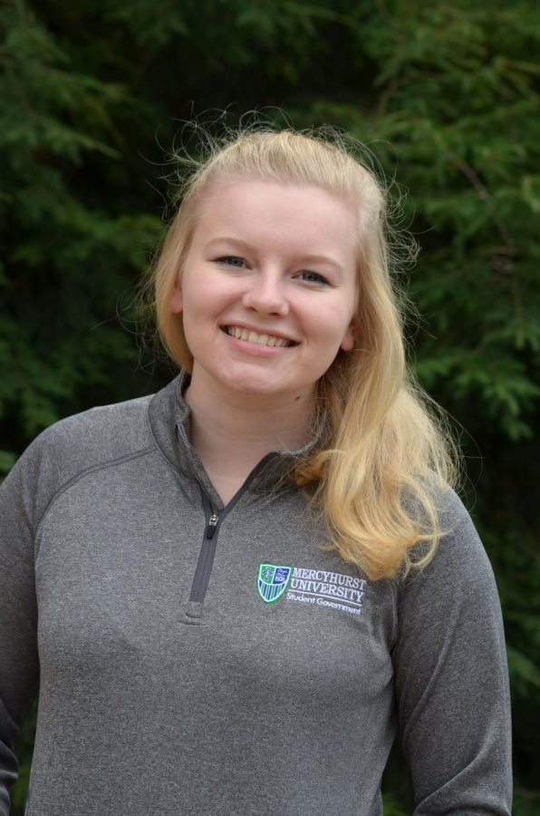Sophia Jensen will take her place as the MSG vice president in Fall 2018, and is excited for the opportunity to serve the Mercyhurst community.