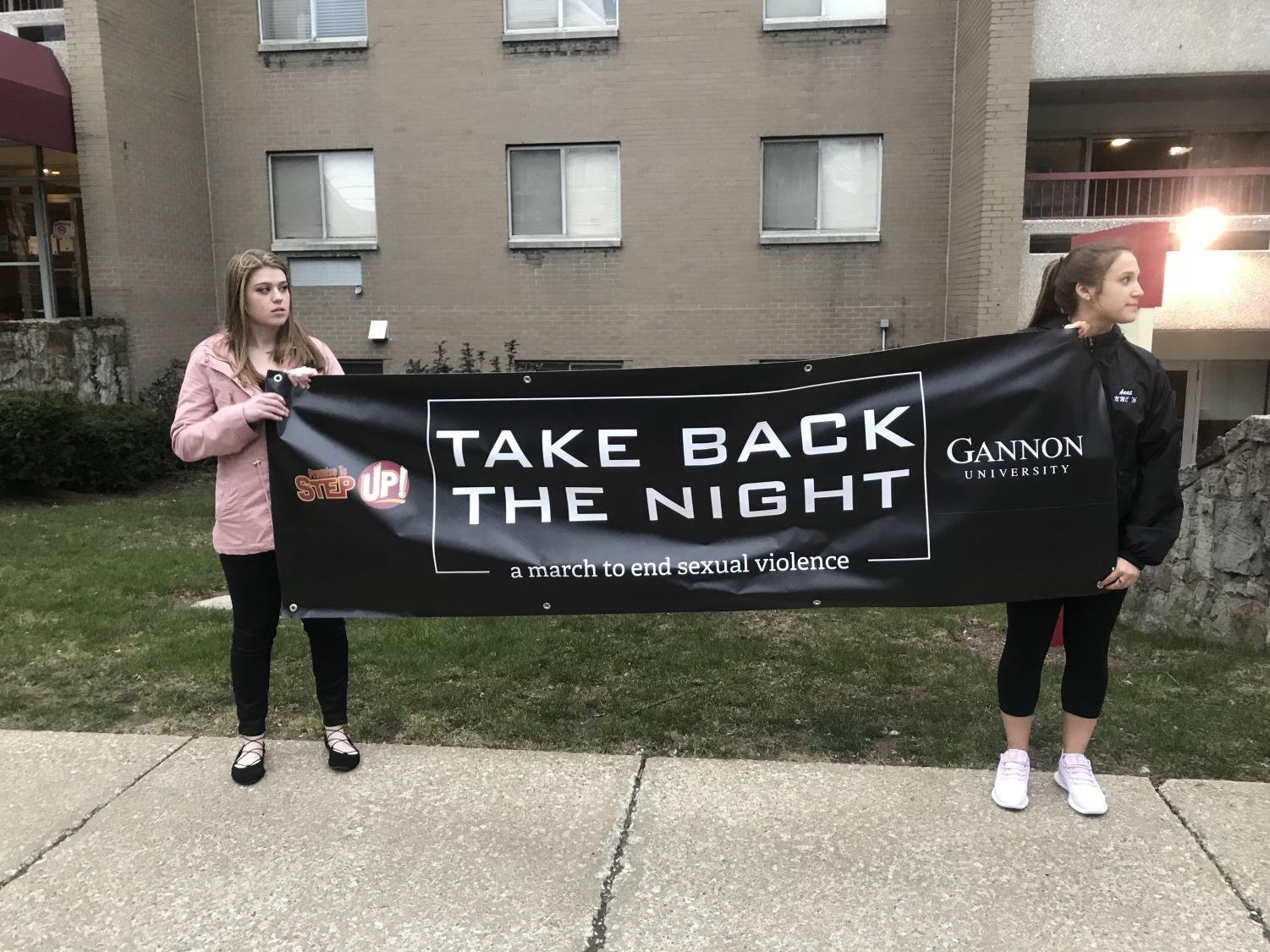 Students from Mercyhurst University and Gannon University participated in the annual Take Back the Night march to advocate for safe communities and respectful relationships through awareness events and initiatives. Mercyhurst will hold another event for Sexual Assault Awareness Month at 7:30 p.m. on April 24 in the Loft, Old Main 312.