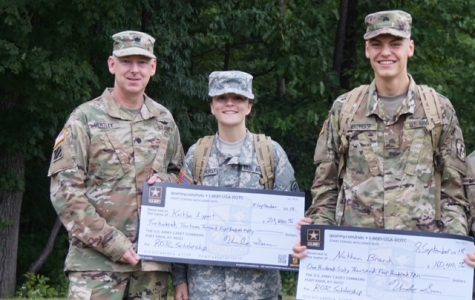 Cadets honored for academics