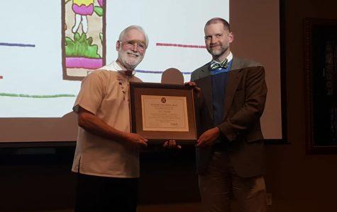 Malischke honored for human justice work in El Salvador