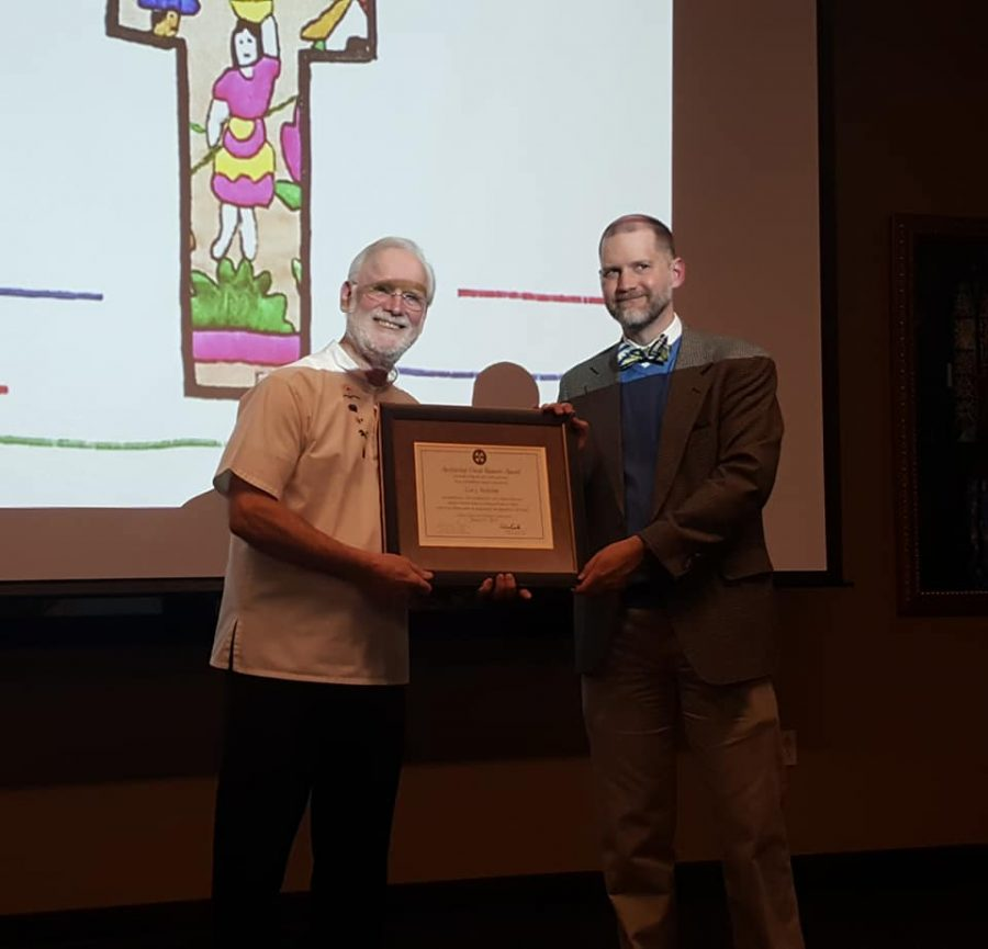 Malischke honored for human justice work in El Salvador