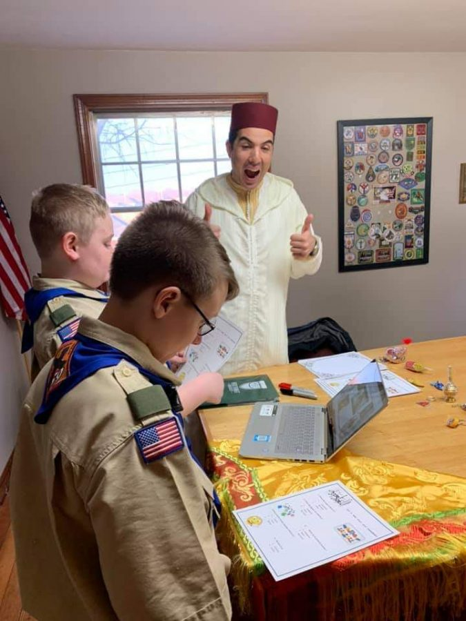 Boy scouts get help from Lakers to earn new citizenship badge