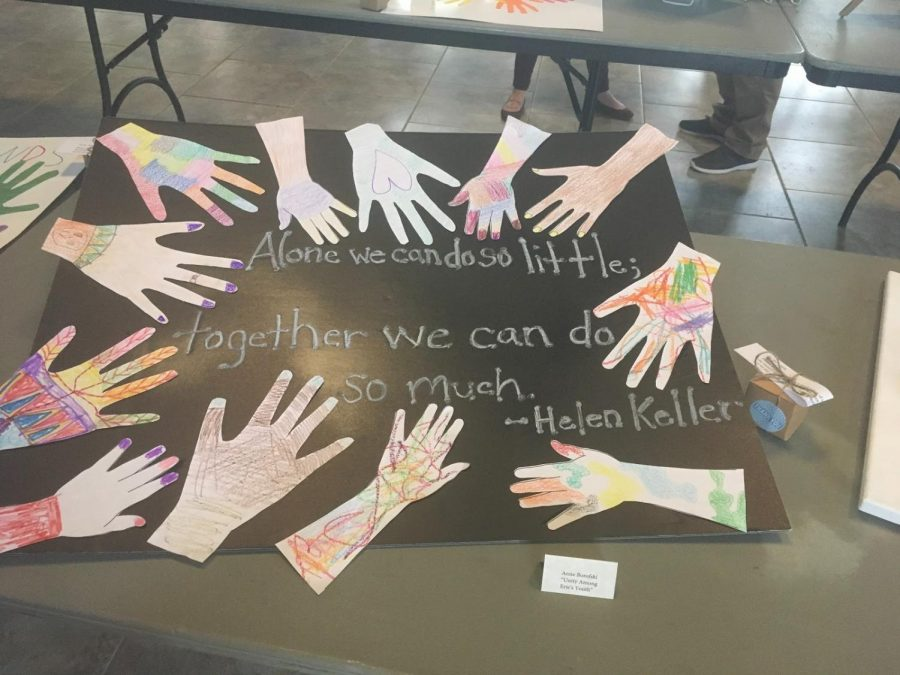 Mosaic for Life displays diversity of Hurst students through art