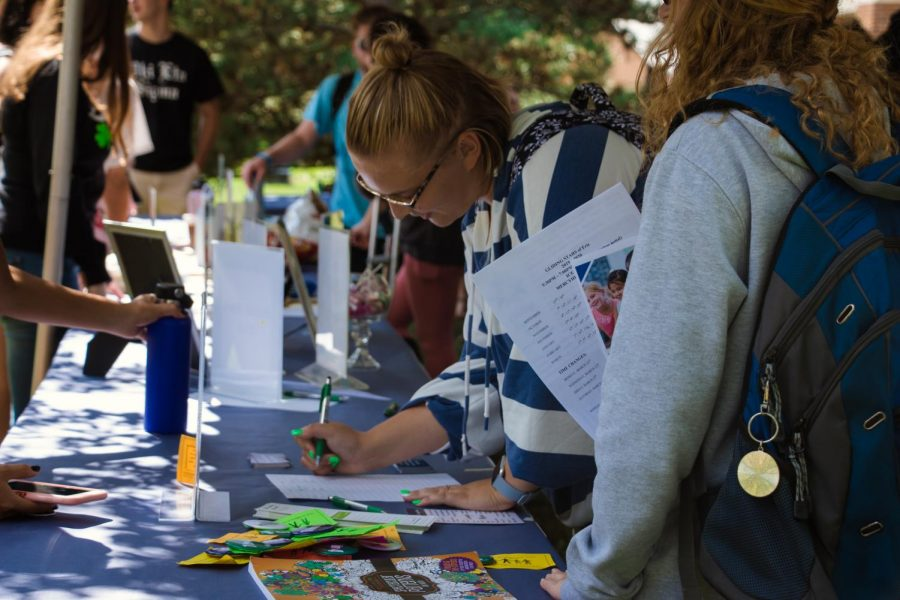 Hurst hosts Involvement Fair