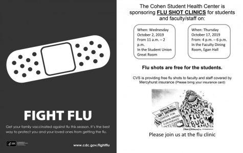Flu Shot Clinics offered this fall