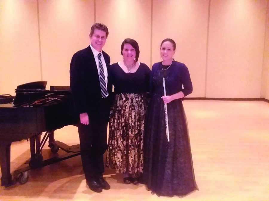 Magic flute came to Walker Recital Hall