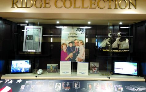 New library display showcases legacy of Governor Tom Ridge